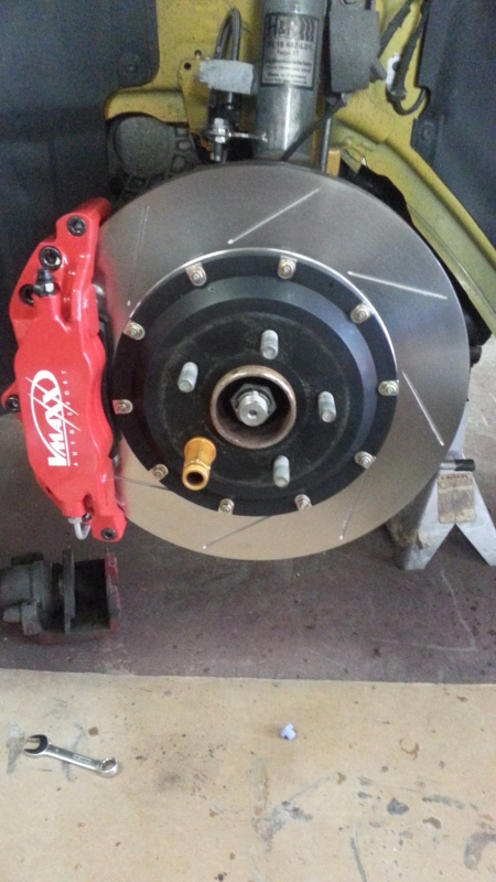 2012+ Ford Focus/2013+ Transit Connect/ 2013+ Escape VMaxx Big Brake kit