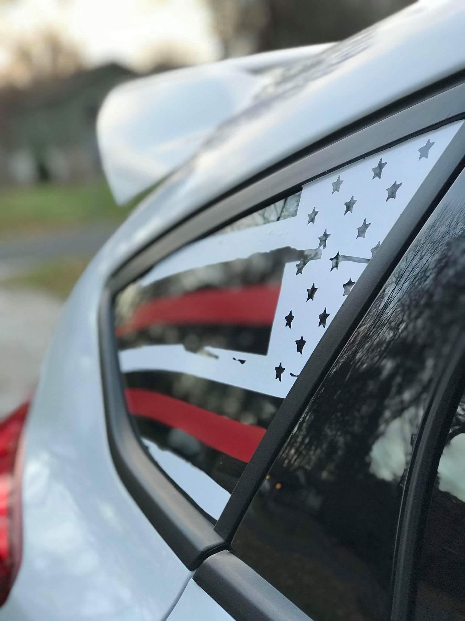 Ford Focus Mk3 Rear Window Decals